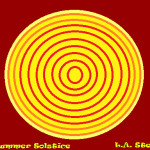 summer solstice dark red