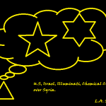 U.S Israel Illuminati chemical cloud over Syria