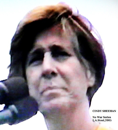 Cindy Sheehan at Mic
