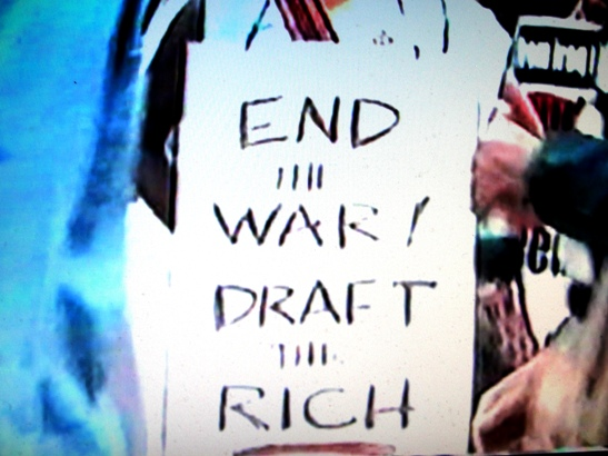 End the War Draft the Rich