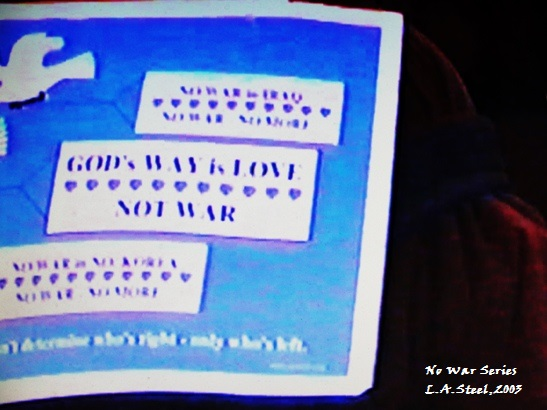 God's Way is Love not War