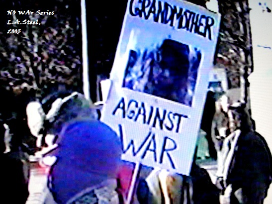 Grandmother against war