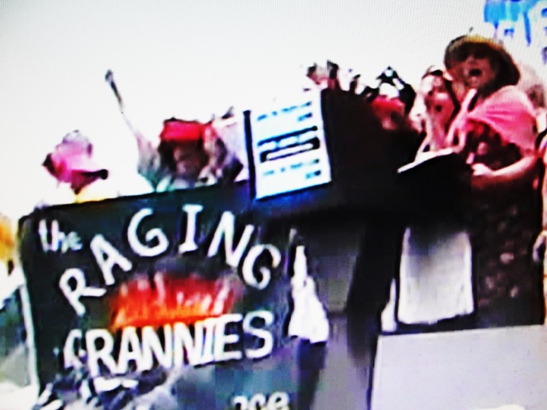 Raging Grannies  9 24 2005