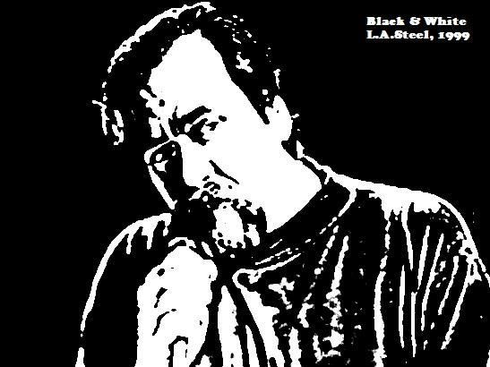 black and white me