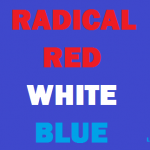radical red white blue