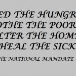 THE NATIONAL MANDATE