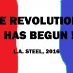 THE REVOLUTION AS BEGUN 2016