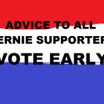 ADVICE TO BERNIE SUPPORTERS
