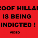 PROOF HILLARY IS BEING INDICTED