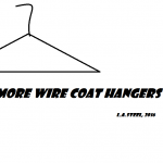 no more wire coat hangers