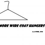 no more wire coat hangers
