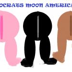DEMOCRATS MOON AMERICA