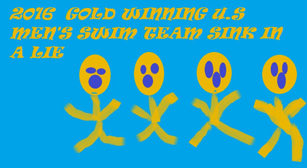 SWIM TEAM SINK IN A LIE 2016