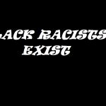 BLACK RACISTS EXIT 2016