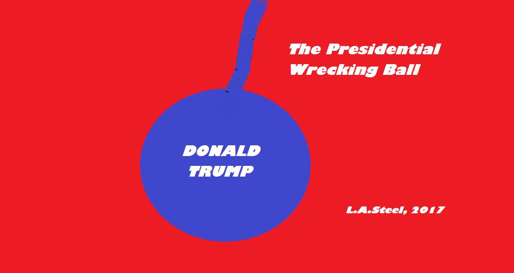 presidential wreaking ball 2017