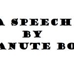 A SPEECH BY MANUTE BOL 2004