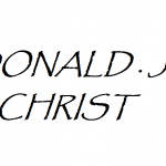 DONALD J CHRIST 2018