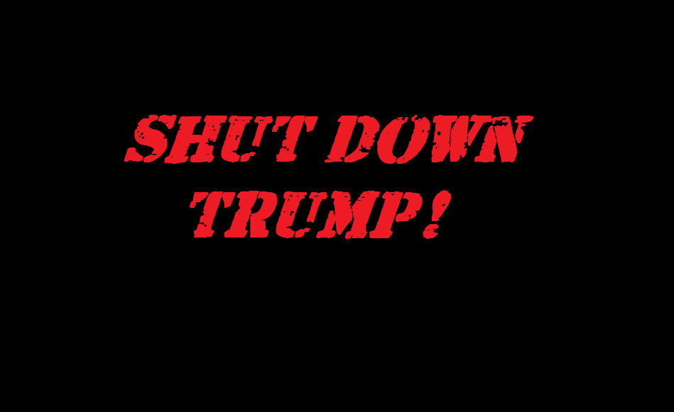 shut down trump 2018