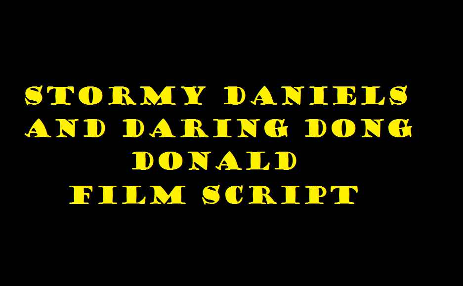 stormy daniels and daring dong donald 2018
