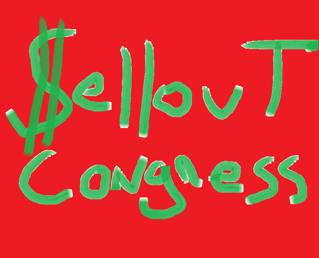 sell out congress 2018