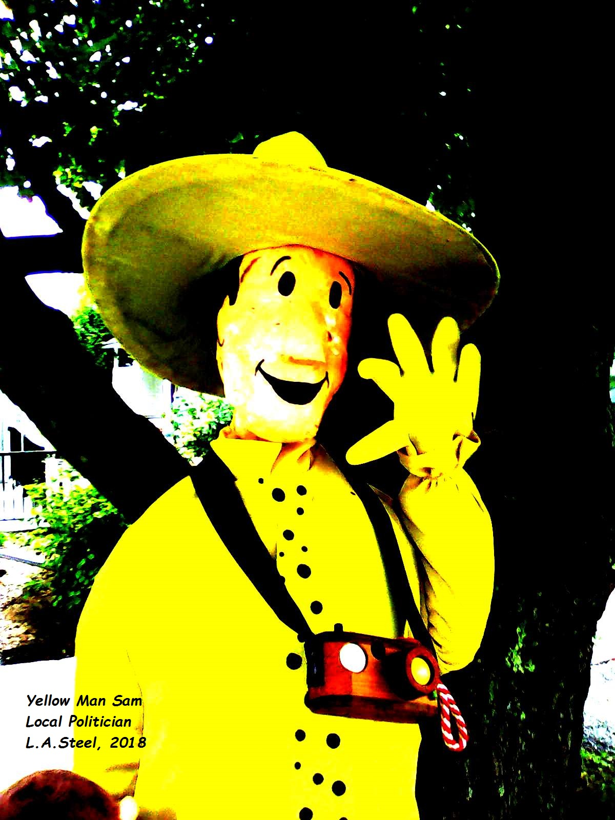 yellow man sam local politician 3 2018