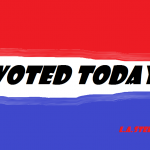 I VOTED TODAY 2018