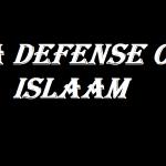 a defense of islaam video presentation