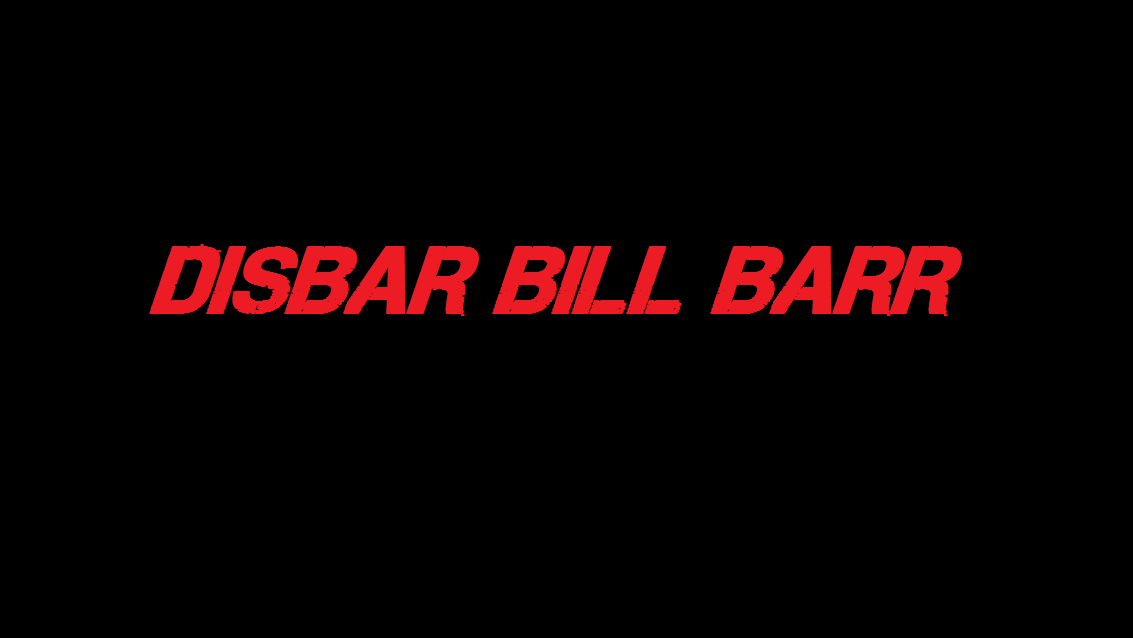 disbar bill barr 2019