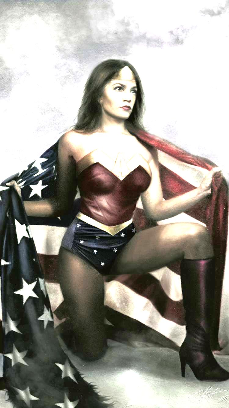 A0C PORTRAIT AS WONDER WOMAN 2019