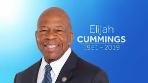 ELIJAH CUMMINGS PICTURE 2019