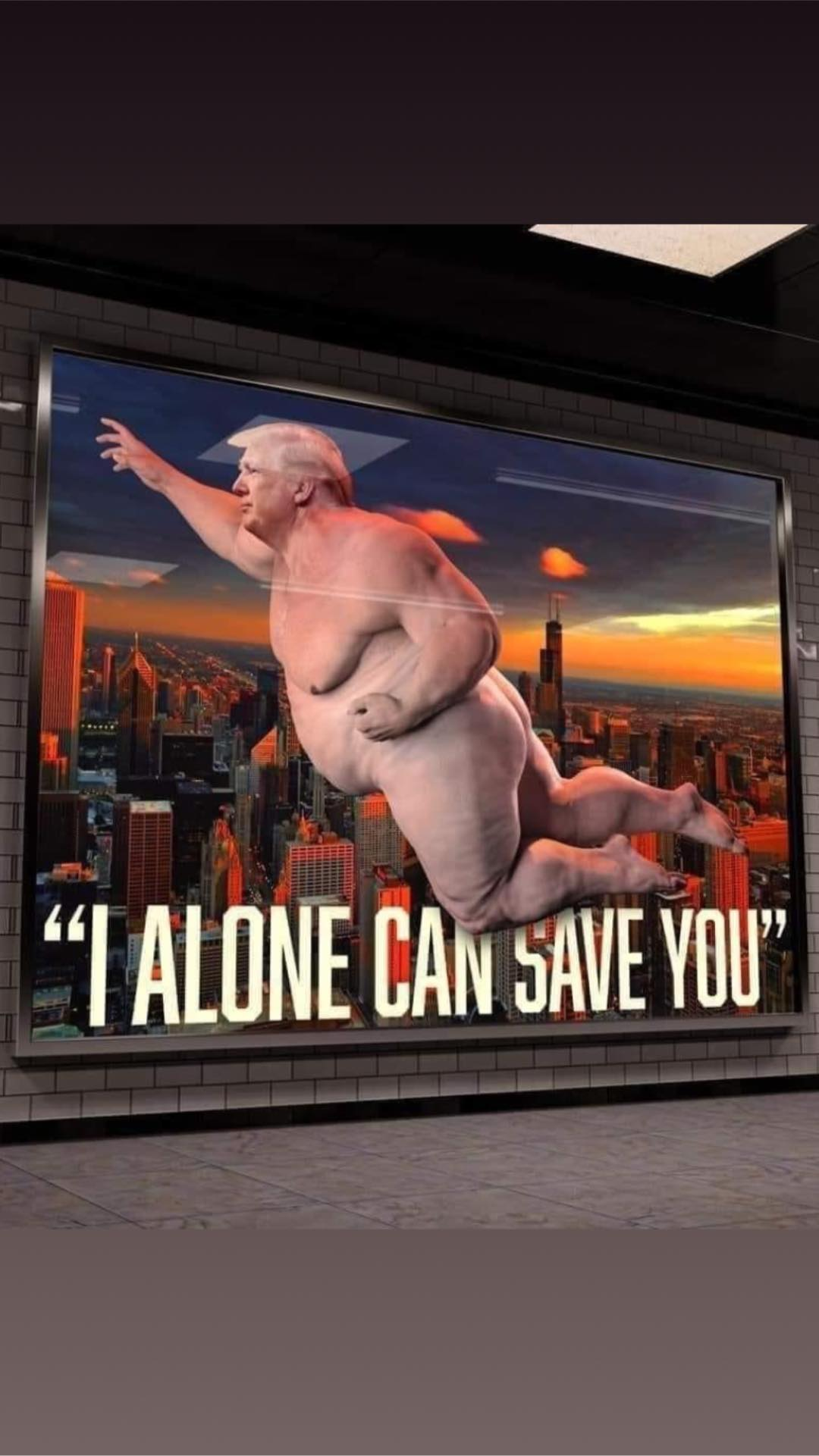 fat man super trump can save you