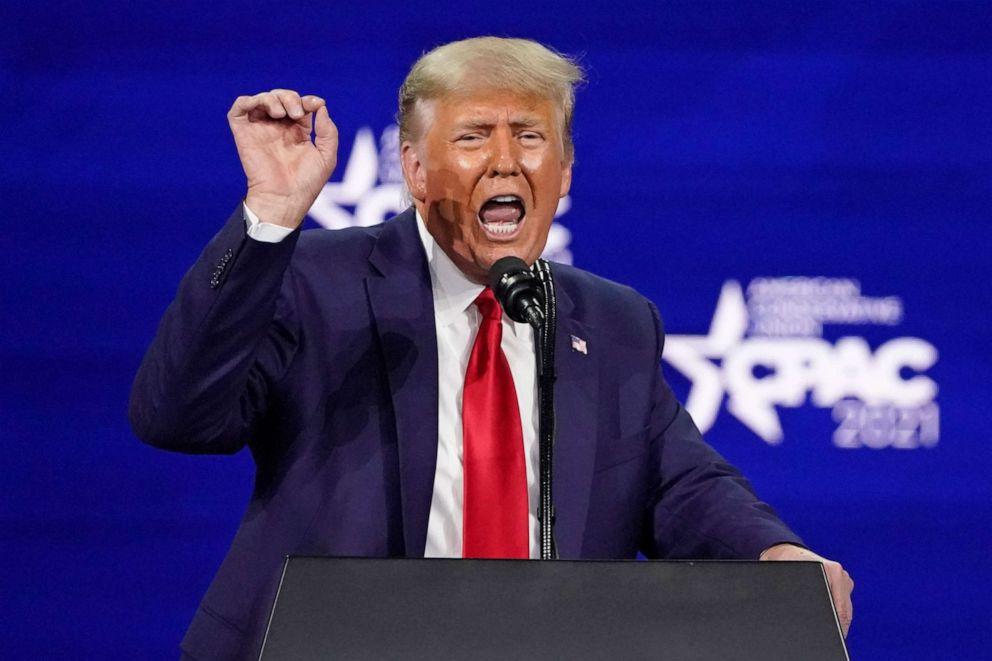 Trump at cpac 2021