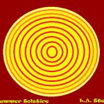 summer solstice dark red