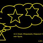 U.S Israel Illuminati chemical cloud over Syria