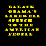 barack obama's farewell speech