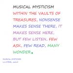 MUSICAL MYSTICISM