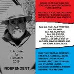 L.A.STEELFOR PRESIDENT 2016 POSTER
