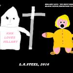 KKK LOVES HILLARY