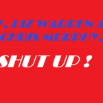 HEY LIZ AND CHRIS SHUT UP