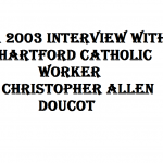 title to chistopher allen doucot interview 2003