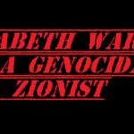 elizabeth warren is a genocidal zionist 2019