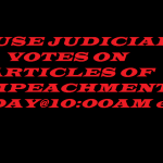 HOUSE JUDICIARY IMPEACHMENT VOTE 12 13 19
